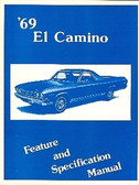 1969 69 EL CAMINO/SS396/SS396 ILLUSTRATED FACTS