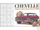 1968 CHEVELLE/SS CUSTOM FEATURE ACCESSORIES BROCHURE