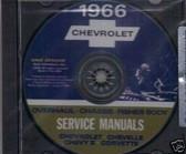 1966 CHEVELLE/SS/CORVETTE SHOP/BODY REPAIR MANUAL ON CD