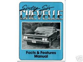 1966 66 CHEVROLET CHEVELLE ILLUSTRATED FACTS