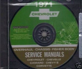 1971 CAMARO/SSCHEVELLE/SS SHOP BODY REPAIR MANUAL