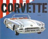 1958 CORVETTE SALES BROCHURE