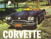 1959 CORVETTE SALES BROCHURE