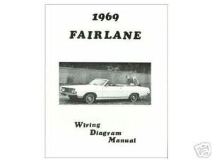 1969 69 FORD FAIRLANE WIRING DIAGRAM MANUAL - MJL Motorsports.com | Windshield Wipers Wiring Diagram 69 Torino |  | MJL Motorsports.com
