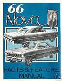 1966 66 CHEVROLET NOVA/ SS ILLUSTRATED FACTS