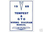 1969 69 GTO/TEMPEST WIRING DIAGRAM MANUAL