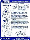 67 68 69 FIREBIRD SPACE SAVER INFLATION INSTRUCTION