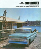 1963 CHEVROLET TRUCK SALES BROCHURE