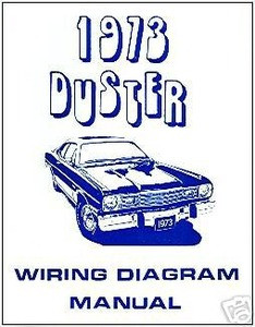 1973 plymouth duster wiring diagram manual