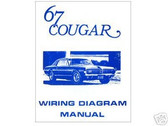 1967 67 COUGAR WIRING DIAGRAM MANUAL