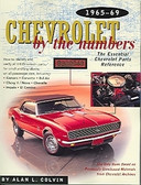 65 66 67 68 69 CHEVROLET BY THE NUMBERS-CAMARO-VETTE
