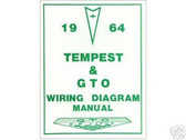 1964 64 GTO/TEMPEST WIRING DIAGRAM MANUAL