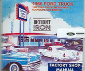 1966 66 FORD TRUCK SHOP/BODY MANUAL ON CD