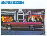 1966 FORD RANCHERO SALES BROCHURE