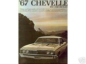 1967 67 CHEVELLE/ SS 396 SALES BROCHURE