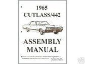 1965 65 CUTLASS/442 ASSEMBLY MANUAL