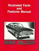 1966 FALCON ILLUSTRATED FACTS & FEATURE MANUAL