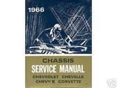 1966 66 CHEVY II SHOP MANUAL