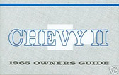 1965 CHEVY ll OWNERS MANUAL