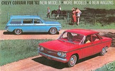 1961 CHEVY CORVAIR SALES BROCHURE