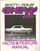 1964 64 CHEVROLET NOVA/ SS ILLUSTRATED FACTS
