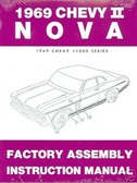 1969 NOVA/SS/CHEVY II FACTORY ASSEMBLY MANUAL