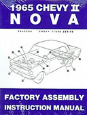 1965 NOVA/SS/CHEVY II FACTORY ASSEMBLY MANUAL