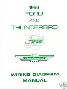 1956 ford thunderbird wiring diagram manual mjl 56 ford thunderbird wiring diagram