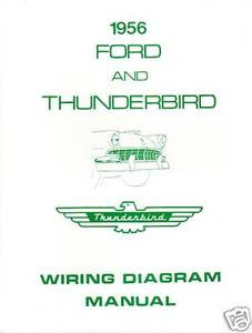 1956 ford thunderbird wiring diagram manual