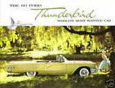 1960 FORD THUNDERBIRD SALES BROCHURE