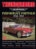 1955 1956 1957 THUNDERBIRD PERFORMANCE PORTFOLIO