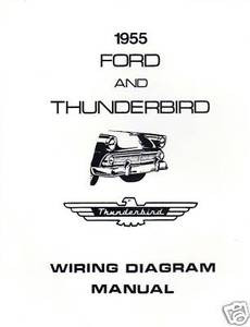 1955 ford \u0026 thunderbird wiring diagram manual mjl overdrive wiring diagram schematic