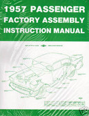 1957 CHEVROLET PASSENGER CAR FACTORY ASSEMBLY MANUAL
