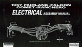 1967 67 FORD FAIRLANE ELECTRICAL ASSEMBLY MANUAL
