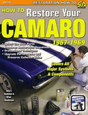 67 68 69 CAMARO/Z28/SS RESTORATION MANUAL-NEW-COLOR
