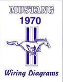 1970 MUSTANG/MACH 1 WIRING DIAGRAM MANUAL