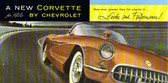 1956 CORVETTE SALES BROCHURE