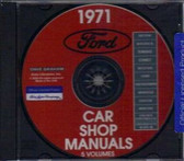 1971 MUSTANG/GT/MACH 1/TORINO/ COUGAR SHOP MANUAL ON CD
