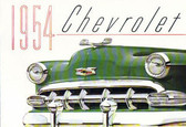 1954 CHEVROLET PASSENGER CAR SALES BROCHURE