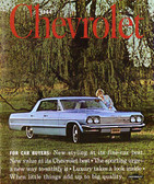 1964 CHEVROLET SALES BROCHURE