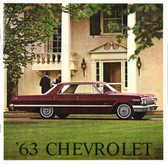 1963 CHEVROLET SALES BROCHURE