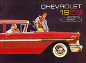 1958 CHEVROLET STATION WAGON SALES BROCHURE