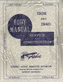 1939-1940 CHEVROLET BODY REPAIR MANUAL