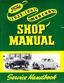 1932 34 35 36 37 38 39 41 FORD/MERCURY CAR SHOP MANUAL