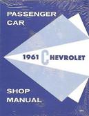 1961 CHEVROLET PASSENGER CAR SHOP MANUAL
