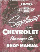 1956 CHEVROLET PASSENGER CAR SHOP MANUAL SUPPLEMENT