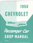 1958 CHEVROLET PASSENGER CAR SHOP MANUAL
