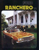 1974 FORD RANCHERO SALES BROCHURE
