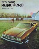1973 FORD RANCHERO/GT/500/SQUIRE SALES BROCHURE