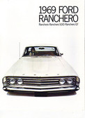1969 FORD RANCHERO/GT/500 SALES BROCHURE